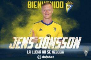 Jens Jønsson, Cádiz CF