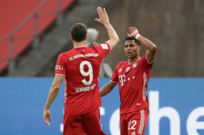 Robert Lewandowski og Serge Gnabry, Bayern München