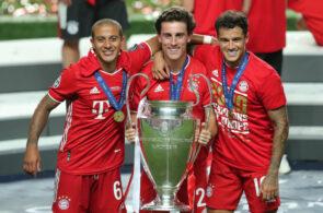 Thiago, Odriozola og Coutinho, Bayern München