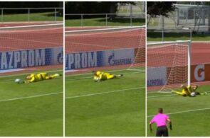 Salzburg-målmand tager tre straffespark