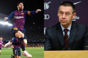 Messi, Bartomeu, Barcelona