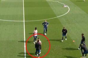 Dani Ceballos og Eddie Nketiah, Arsenal