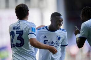 Jonas Wind og Mohamed Daramy, FC København