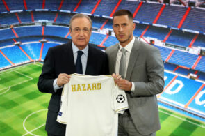 Real Madrid Unveil New Signing Eden Hazard