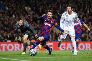 Sergio Ramos og Lionel Messi