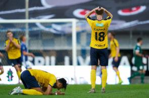 Lyngby BK and Hobro IK - Danish 3F Superliga