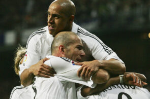 Roberto Carlos og Zinedine ZIdane, Real Madrid
