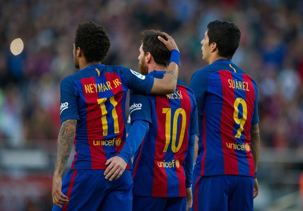 Neymar og Lionel Messi, Barcelona