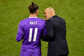 Zinedine Zidane og Gareth Bale, Real Madrid