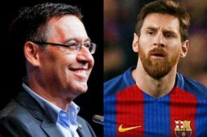 Lionel Messi, Bartomeu