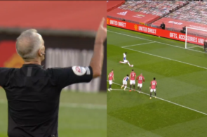 Crystal Palace-straffe mod Manchester United