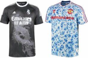 Nye trøjer, Real Madrid og Manchester United