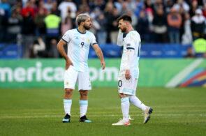 Sergio Agüero og Lionel Messi, Argentina