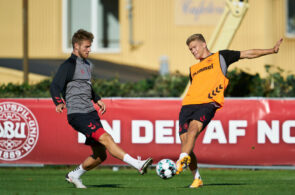 Denmark Training Session