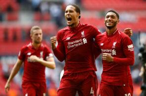 Virgil van Dijk Joe Gomez Liverpool