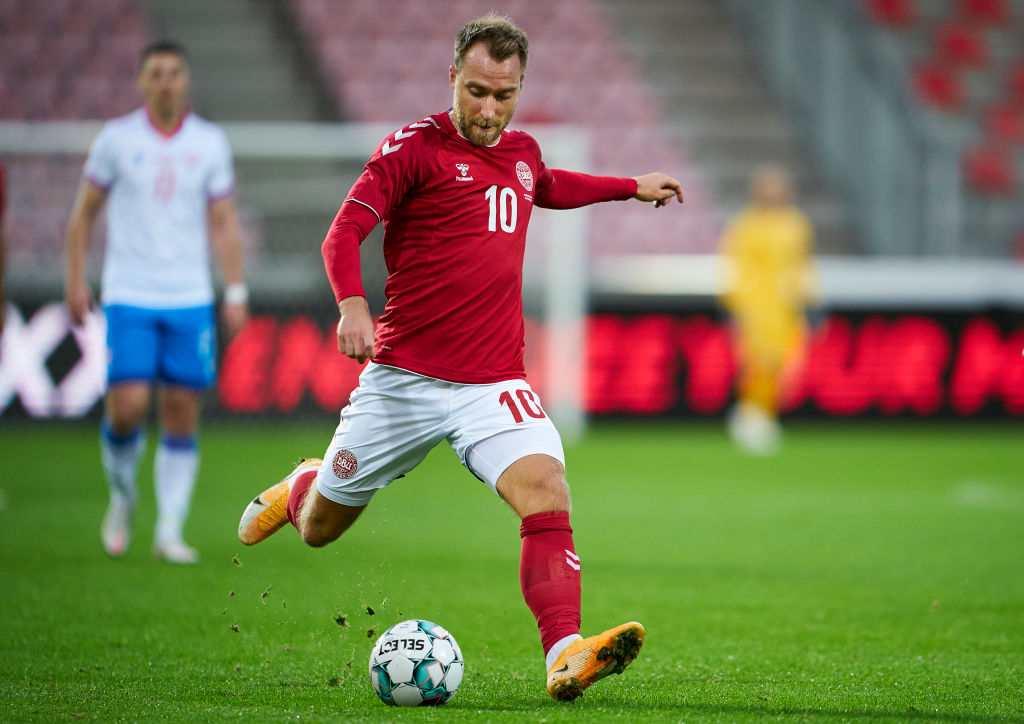 Christian Eriksen, Danmark