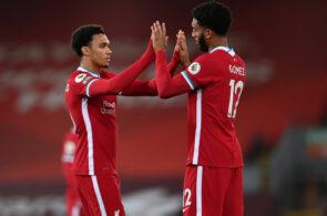 Trent Alexander-Arnold og Joe Gomez, Liverpool FC
