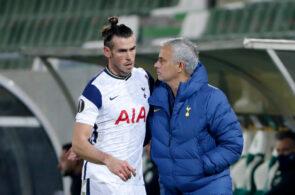 Gareth Bale og José Mourinho, Tottenham