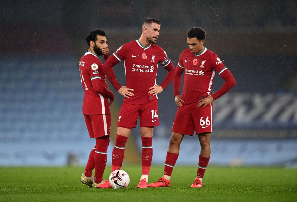 Mohamed Salah, Jordan Henderson og Trent Alexander-Arnold, Liverpool