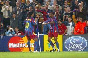 Samuel Eto'o og Ronaldinho, Barcelona