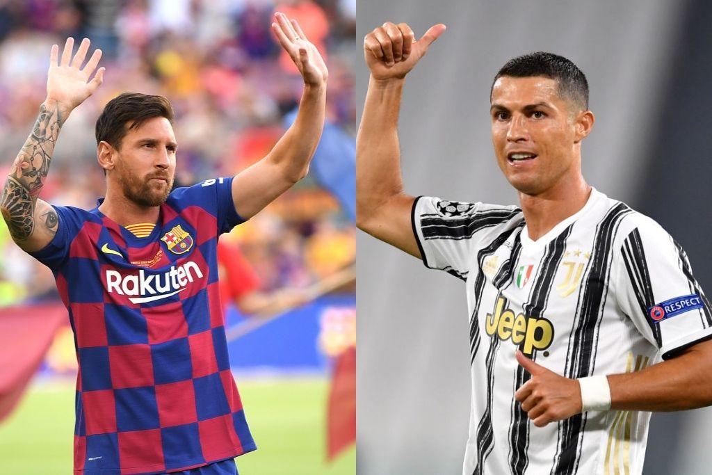Lionel Messi, Barcelona, og Cristiano Ronaldo, Juventus
