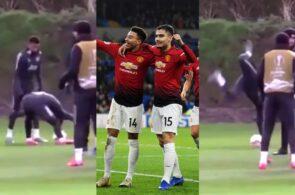 Jesse Lingard og Andreas Pereira, Manchester United