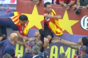 Xavi og Neymar, Barcelona