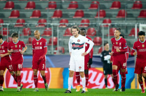 Alexander Scholz, FC Midtjylland mod Liverpool