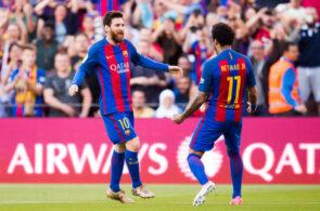 Lionel Messi og Neymar, Barcelona