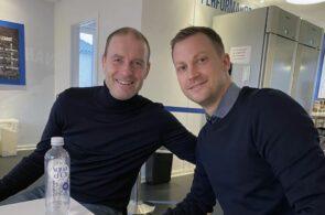 Jess Thorup og Jacob Neestrup, FC København