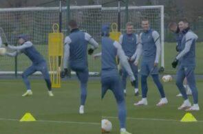 Gareth Bale til Tottenham-træning