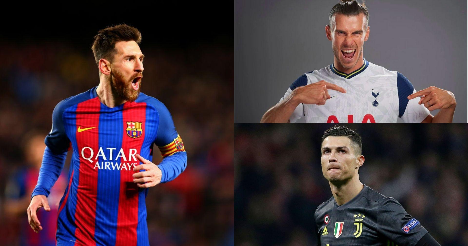 Messi, Ronaldo, Bale