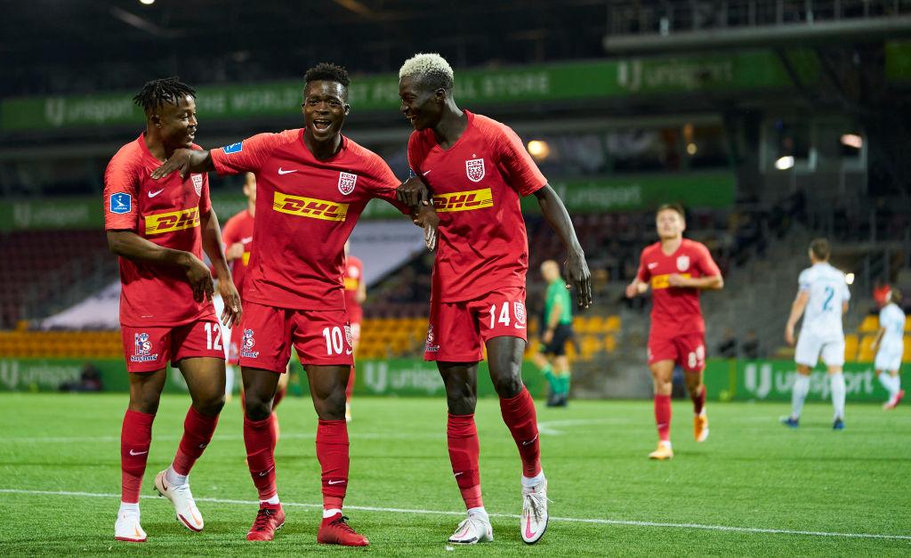Kamaldeen Sulemana FC Nordsjælland