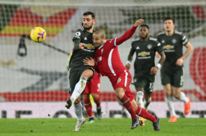 Bruno Fernandes, Manchester United, og Thiago, Liverpool