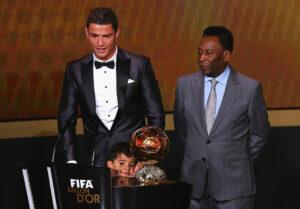 Cristiano Ronaldo og Pelé