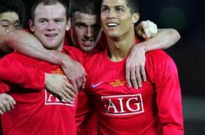Wayne Rooney og Cristiano Ronaldo, Manchester United