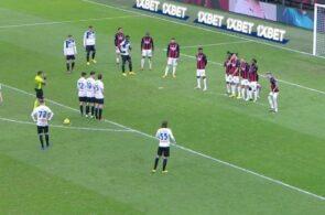 Atalanta-frispark mod AC Milan