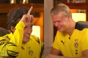 Thomas Delaney og Erling Håland, Dortmund