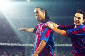 Ronaldinho, Iniesta