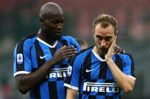 Romelu Lukaku og Christian Eriksen, Inter