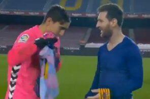 Edgar Badía, Elche, og Lionel Messi, Elche