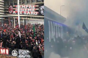 Inter- og AC Milan-fans
