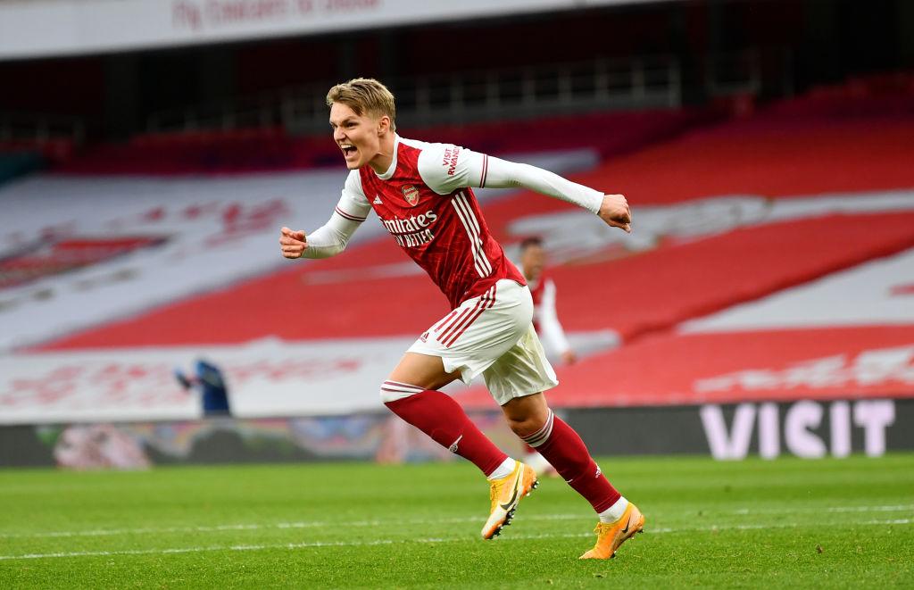 Martin Ødegaard, Arsenal