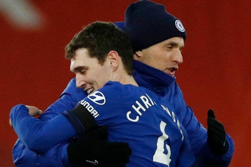 Andreas Christensen og Thomas Tuchel, Chelsea