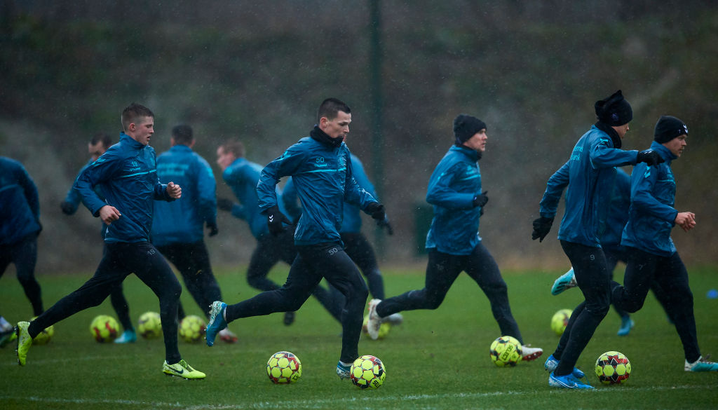 Brondby IF Training Session