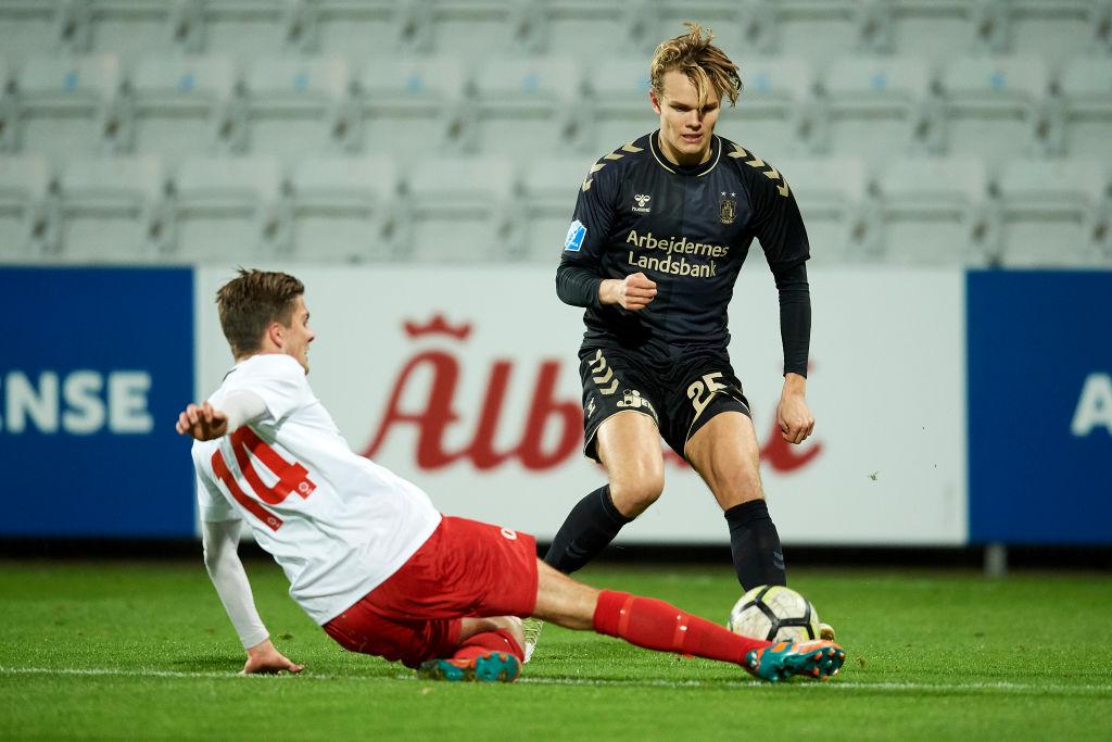 BK Marienlyst vs Brondby IF - Danish Cup Sydbank Pokalen