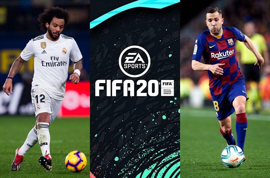 FIFA 20 marcelo & jordi alba