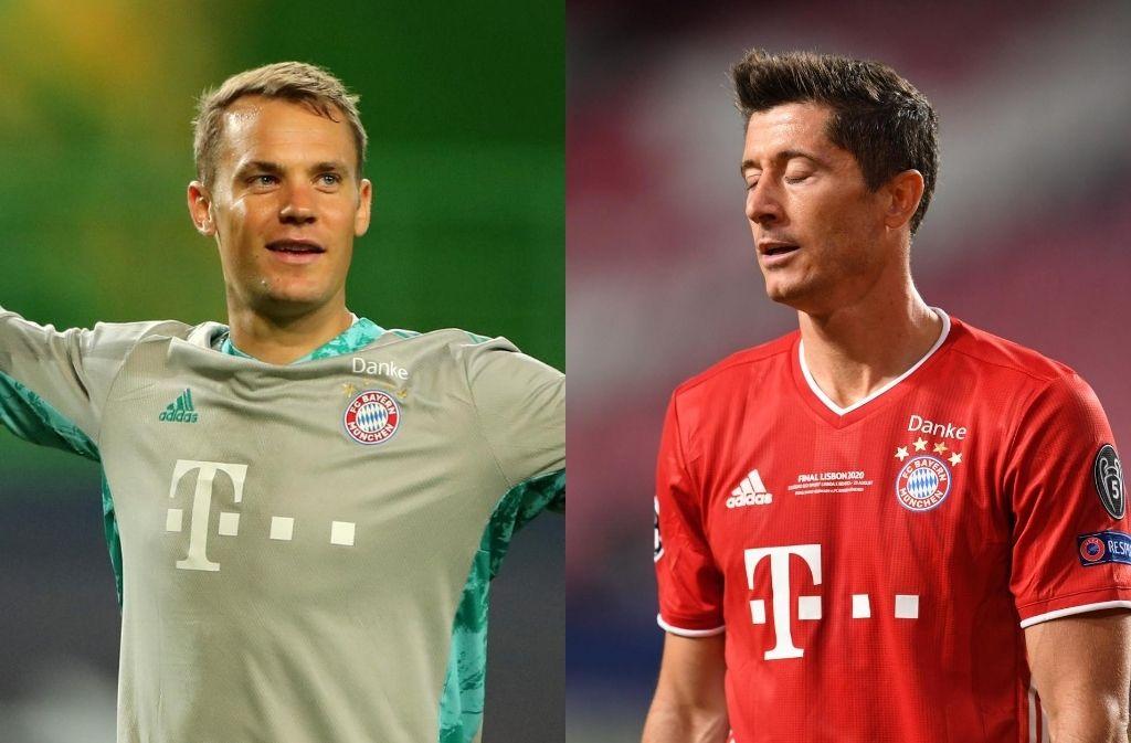 Manuel Neuer, Robert Lewandowski - Bayern Munich