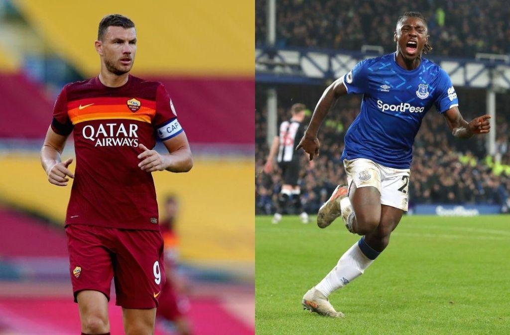 Juventus on Edin Dzeko and Moise Kean
