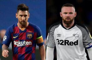 Lionel Messi, Wayne Rooney, Premier League
